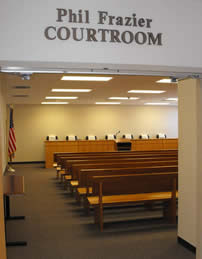 Phil Frazier Courtroom