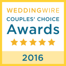 Wedding Wire Award 2016 graphic