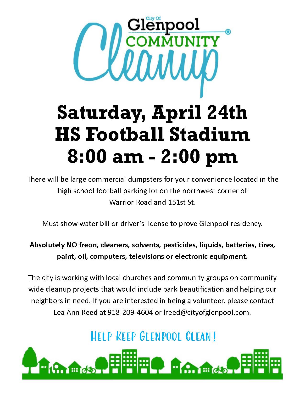 2021 Community Cleanup
